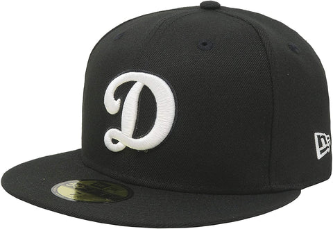 "New Era 59Fifty Los Angeles Dodgers ""D"" MLB Basic Black Cap"