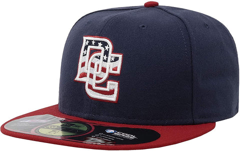 "New Era 59Fifty Washington Nationals ""dc"" Navy/Red cap"