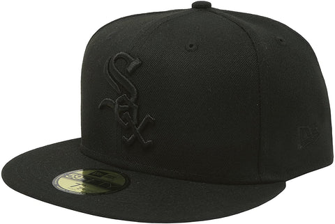 New Era 59Fifty MLB basic Chicago White Sox Black Cap