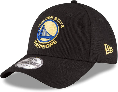New Era 9Forty Golden State Warriors Black/Yellow Adjustable Cap