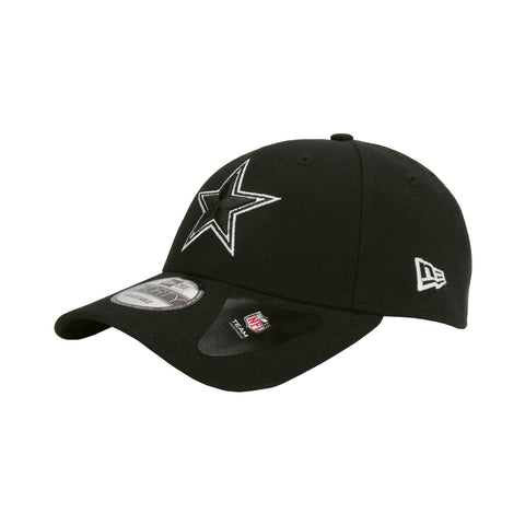 New Era Cap Men s Dallas Cowboys The League Black White Adjustable Strap Hat c5f42d09a