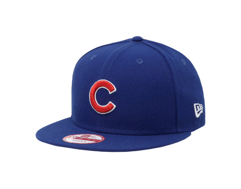 New Era 9Fifty MLB Chicago Cubs Baycik Royal Blue Snapback Cap