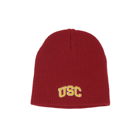 Trojans USC Fowler Youth Knit Beanie Red Cardinal