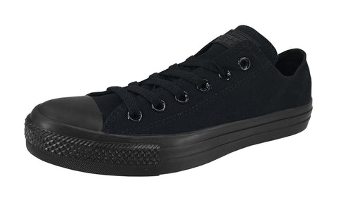 Converse All Star Low Black Mono Unisex Shoes