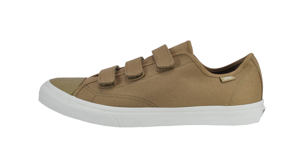 Vans Unisex Shoes Prison Issue Tan Beige Off White Velcro Strap Sneakers 5dae19e36
