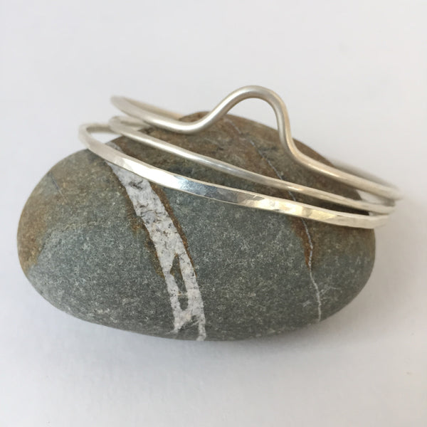 Top Hammered Cuff
