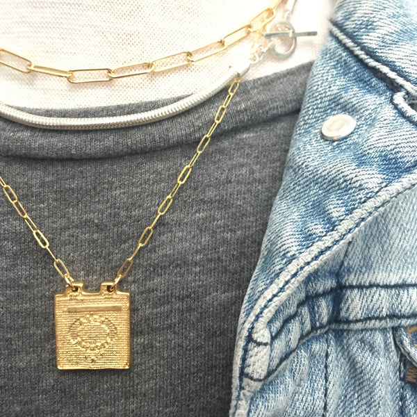 The Manhole Cover Necklace