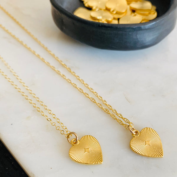 The Vintage Heart Necklace