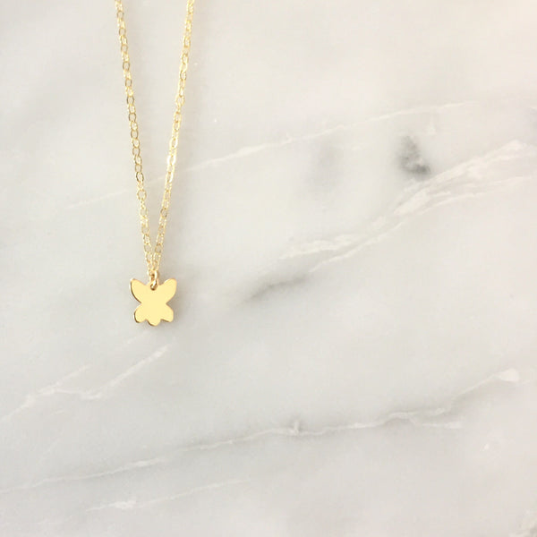 The Tiny Butterfly Necklace