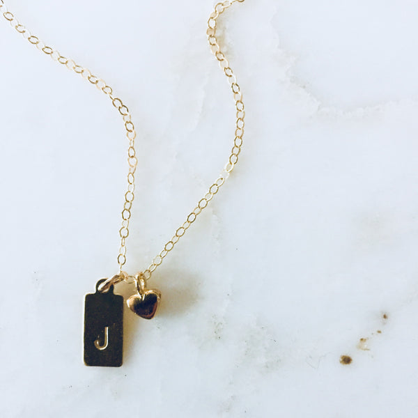 The Tiny Tag Necklace