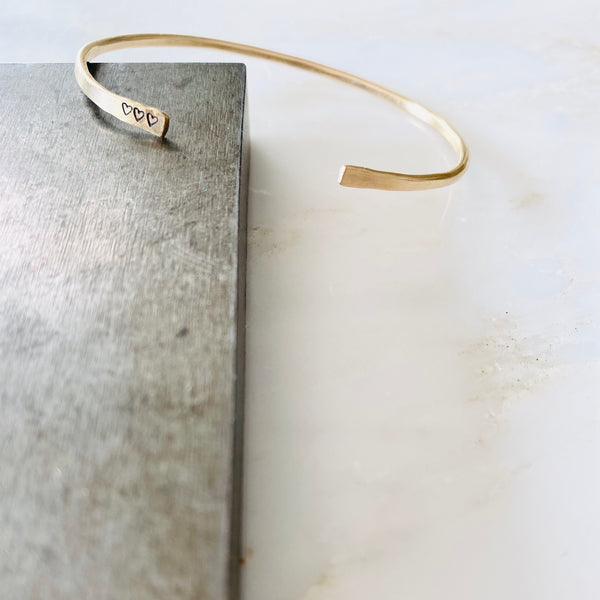 Personalized Thin Cuff