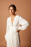 Vestido Julieta off white