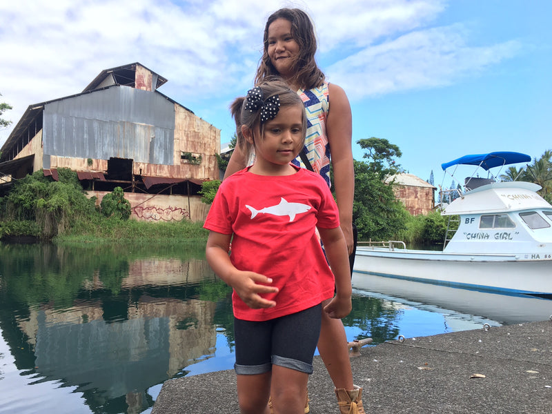 WHAT'S THE HYPE WITH OUR KEIKI FISH TEES?