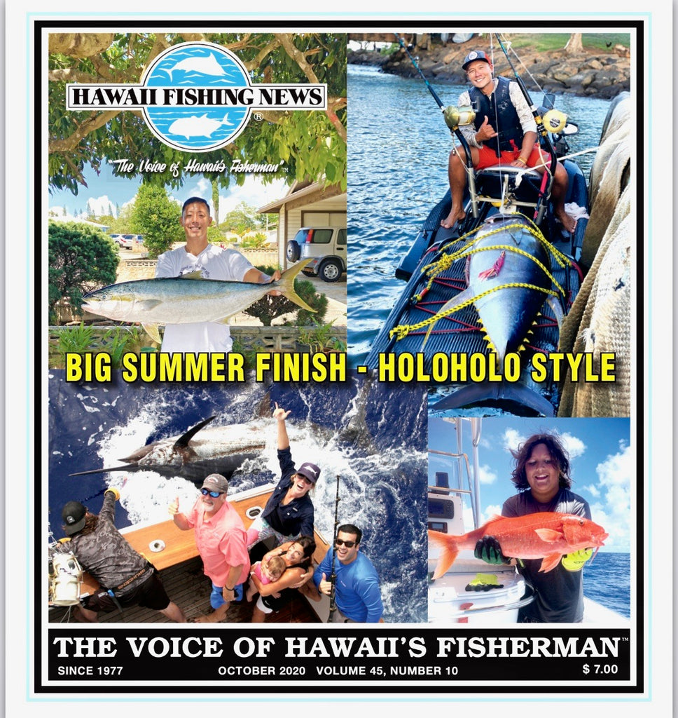 We made it to the cover of Hawaii fishing news magazine