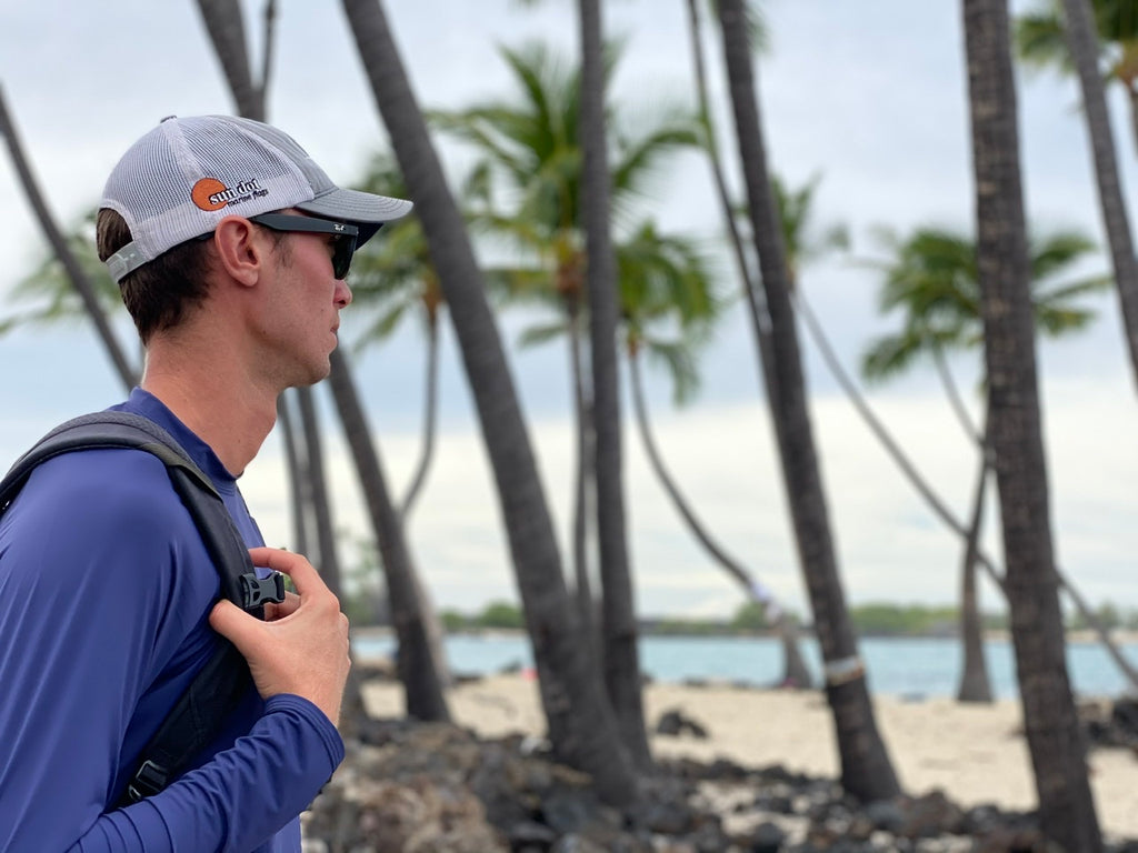 Connor Varney enjoying their scenery big island