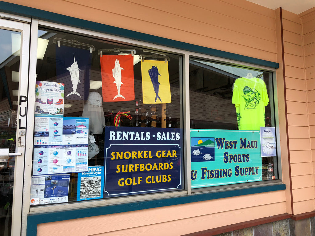 West maui sports storefront