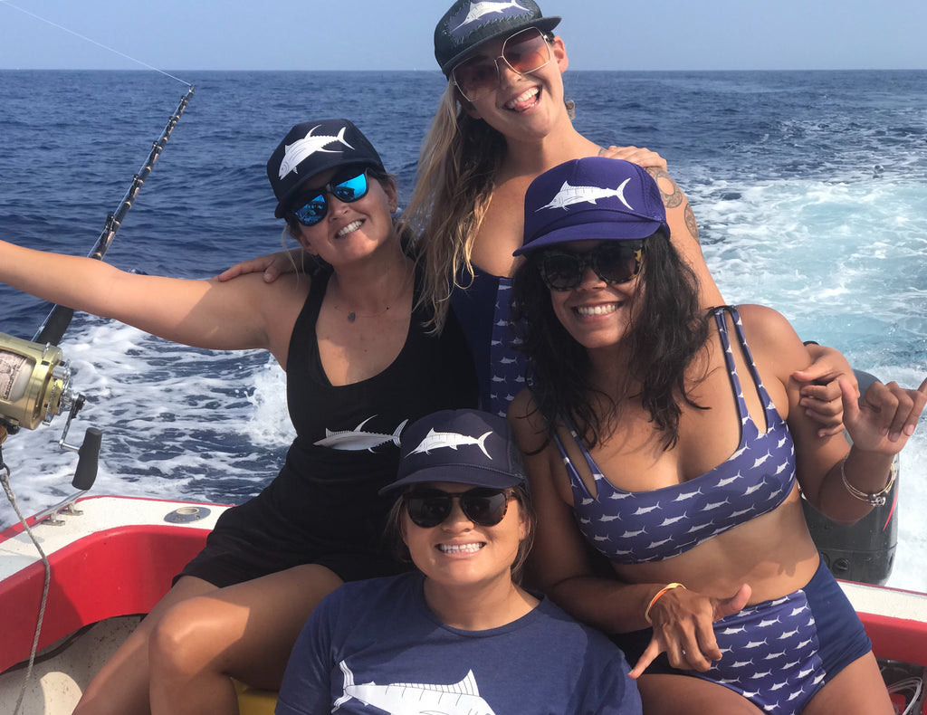 Sundot marine team Huggo's Wahine Tournament