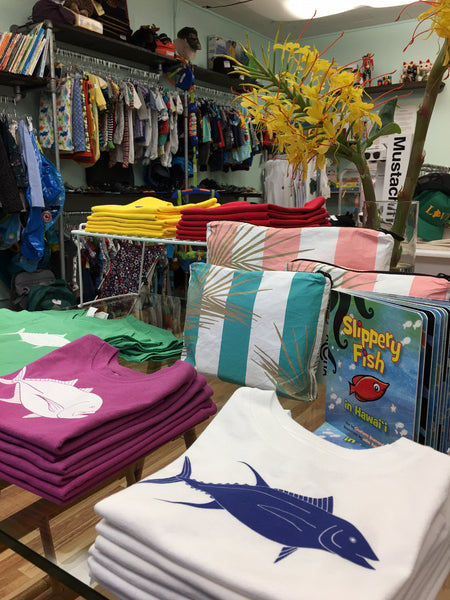 Sundot Marine Flag Kids Tshirts at Crib Hawaii Downtown Hilo Hawaii