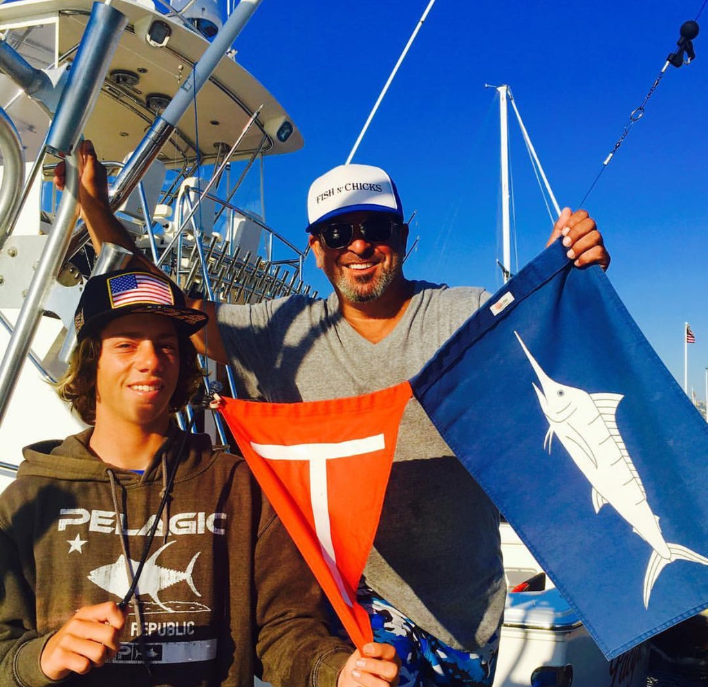 sundot marine marlin and tag and release flag