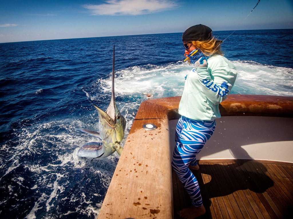 Brittany mccurdy fishing Costa Rica with maverick geaux fly sport fishing