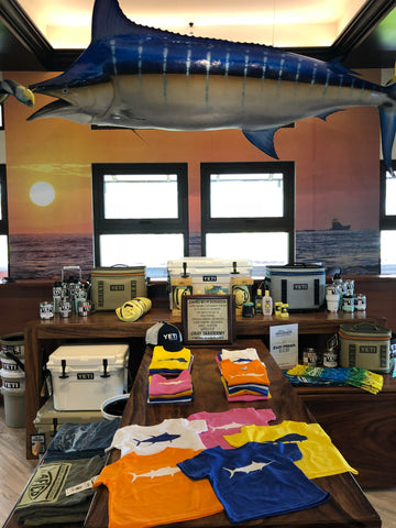 marlin taxidermy inside maverick sport fishing Costa Rica