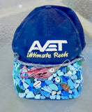 recycled trash hat cynthia ho of keep puako beautiful