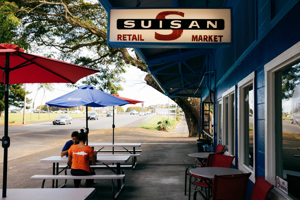 Our flags are now at suisan in hilo sundot marine for Suisan fish market
