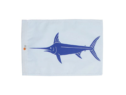 SALE - SWORDFISH SUNDOT MARINE CAPTURE FLAG - 12x18