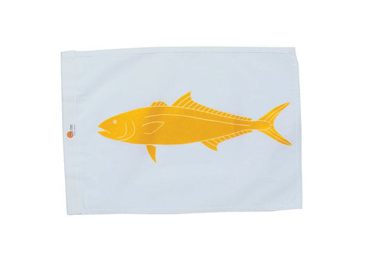 SALE - YELLOWTAIL / KAHALA SUNDOT MARINE CAPTURE FLAG