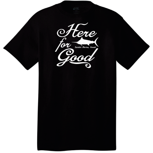 Here For Good Men's 100% Cotton T-shirt