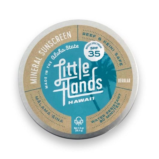 LITTLE HANDS HAWAII ORGANIC BODY AND FACE SUNSCREEN