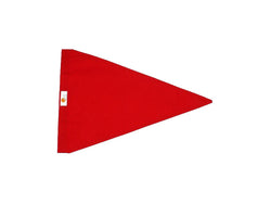 Sundot Marine Flags Release burgee image - red triangle with logo