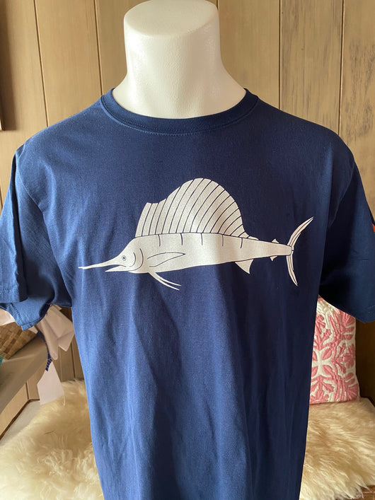 SAILFISH MENS 100% COTTON TEE