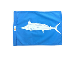 Sundot Marine capture flag Spearfish - powder blue