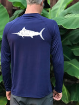 MEN'S LOOSE FIT LONG SLEEVE MARLIN 50 SPF SUN SHIRT