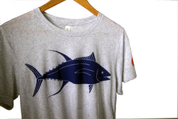 YELLOWFIN TUNA / AHI TRI-BLEND TEE