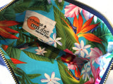 Sundot Hawaii Marlin pouch with Hawaiian print lining - image