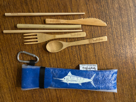 UPCYCLE REUSABLE CUTLERY SETS
