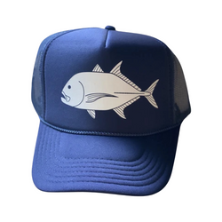 Giant Trevally / Ulua Sun Dot Marine Trucker Hat