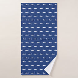 BLUE MARLIN BEACH TOWEL
