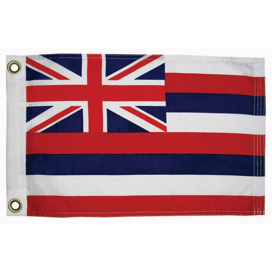 HAWAIIAN FLAG 12x18 INCHES