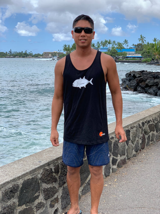 Black Ulua Men's Tank Top