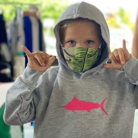 Kids Fish Flag Sweatshirt / Hoody