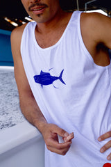 White Yellowfin Tuna / Ahi Men's Tank Top