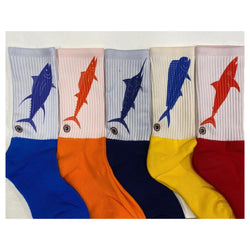 Fish Flag Socks