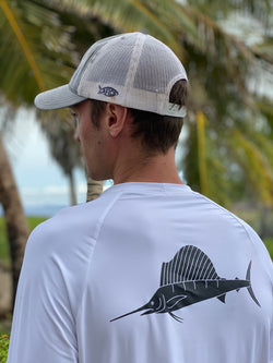 Loose Fit Longsleeve Sailfish 50 SPF Sun Shirt