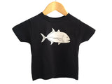 Black Giant Trevally / Ulua Kids T-shirt