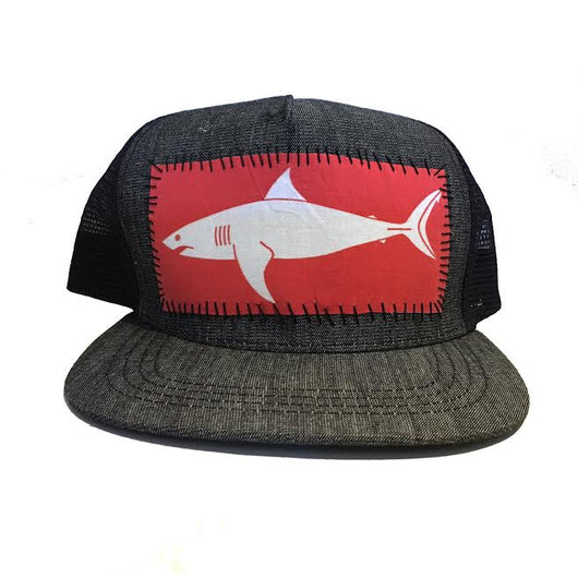 Shark Sundot Marine Hand-Stitched Patch Hat