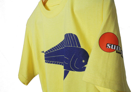 DOLPHIN / MAHI-MAHI MENS 100% COTTON TEE