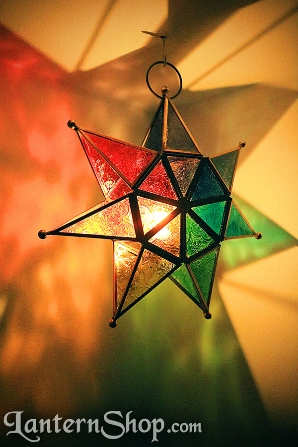 7-point rainbow star